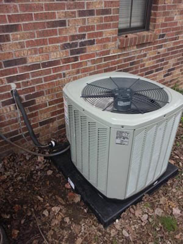 Mathis Collierville 13 SEER Trane 2.5 ton air conditioner install